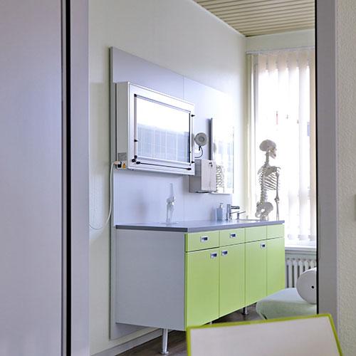 Orthopädie Braunschweig Innenstadt - Gleichmann / Schröder - Behandlungszimmer